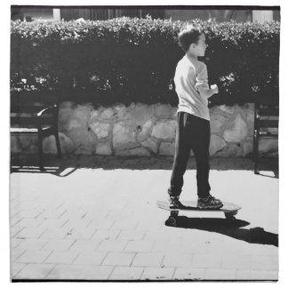 skater boy napkin