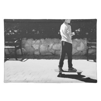 skater boy placemat