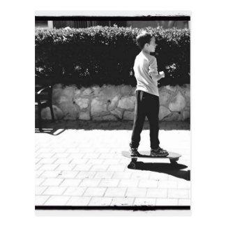 skater boy postcard