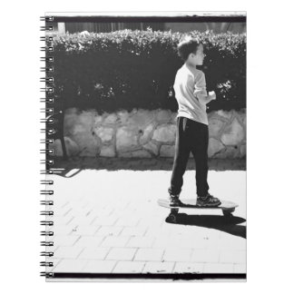 skater boy spiral notebook