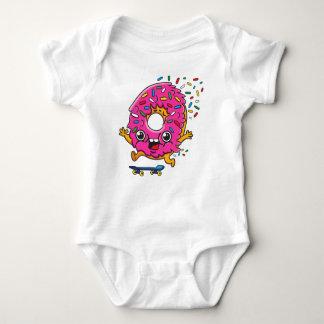 Skater Donut Baby Bodysuit