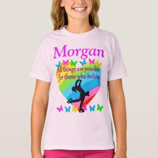 SKATER DREAMS PERSONALIZED T SHIRT