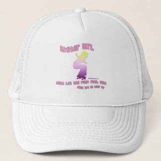 SKATER GIRL TRUCKER HAT