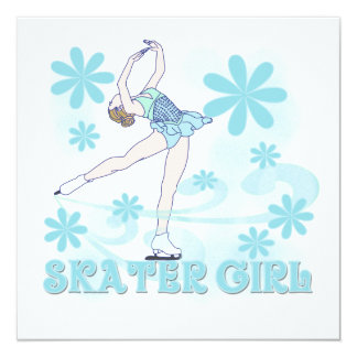 Skater Girl Tshirts and Gifts Card
