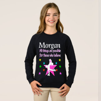 SKATER GOALS AND DREAMS PERSONALIZED SWEATSHIRT