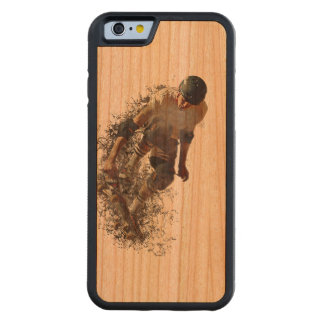 Skater Hobby Sport Cherry iPhone 6 Bumper Case