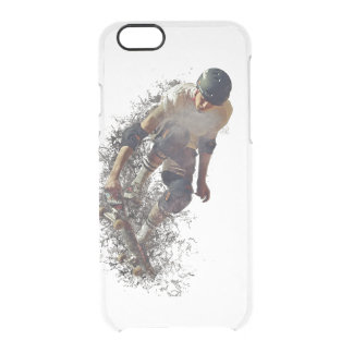 Skater Hobby Sport Clear iPhone 6/6S Case