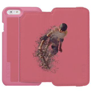 Skater Hobby Sport Incipio Watson™ iPhone 6 Wallet Case