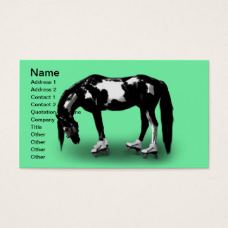 Skater Horse Business Card