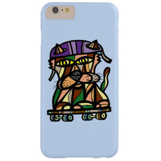 """Skater Kat"" Apple & Samsung Phone Case"