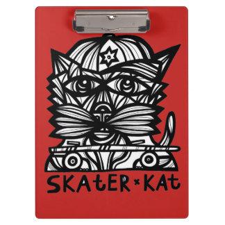 """Skater Kat"" Clipboard"