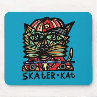 Skater Kat Mousepad