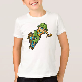 Skater servant boy and sunhat T-Shirt