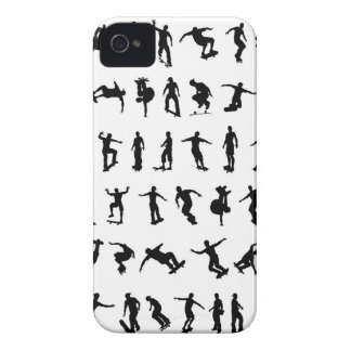 Skater Silhouettes iPhone 4 Cover