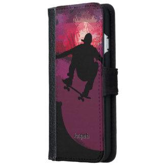 Skater Skating iPhone 6 Wallet Case