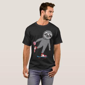 Skater Sloth T-Shirt