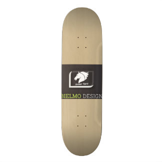 "#Skater Spirit skateboard deck 8.5"" with wood"