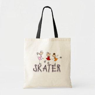 Skater Stick Figures Bag