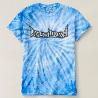 Skater T-shirt London multicolored with graffiti