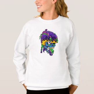Skater zombie. sweatshirt