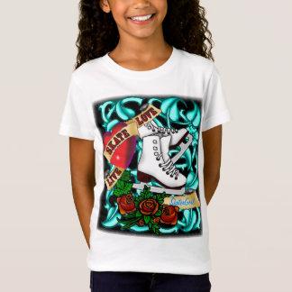 SkaterGirl Tattoo T-Shirt