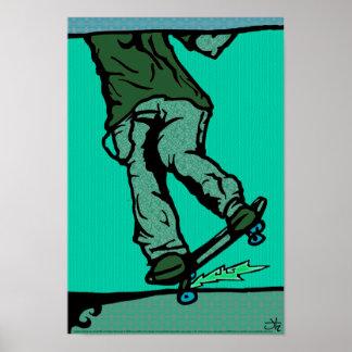 skaters2-aqua poster