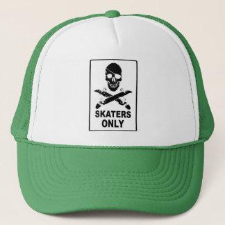 Skaters only trucker hat