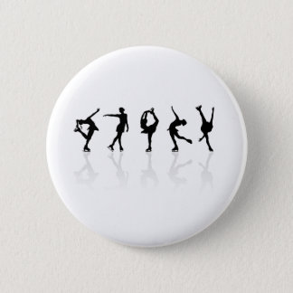 Skaters & Reflections 2 Inch Round Button