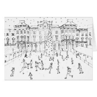 Skating at Somerset House Card
