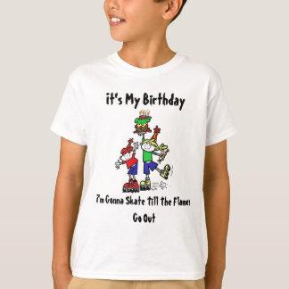 Skating Birthday Tshirt