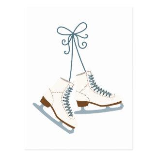 Skating Boots Postcard
