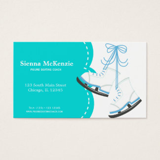 Skating Coach Business Card