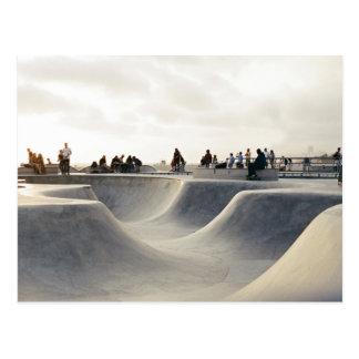 Skating course postcard