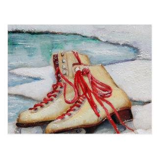 Skating Dreams Postcard