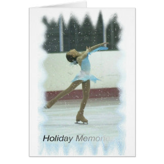 Skating memories card