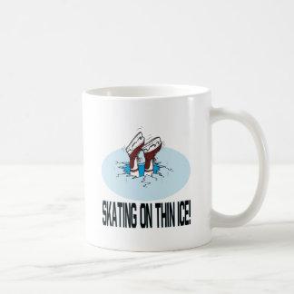 Skating On Thin Ice Coffee Mug