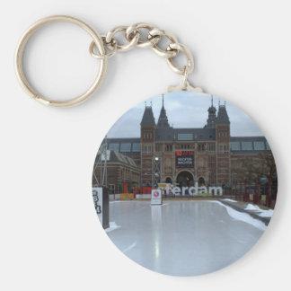 Skating rink, Museumplein, Amsterdam Keychain