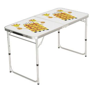 Skating Soap Ping Pong Table