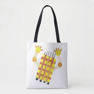 Skating Soap Tote Bag