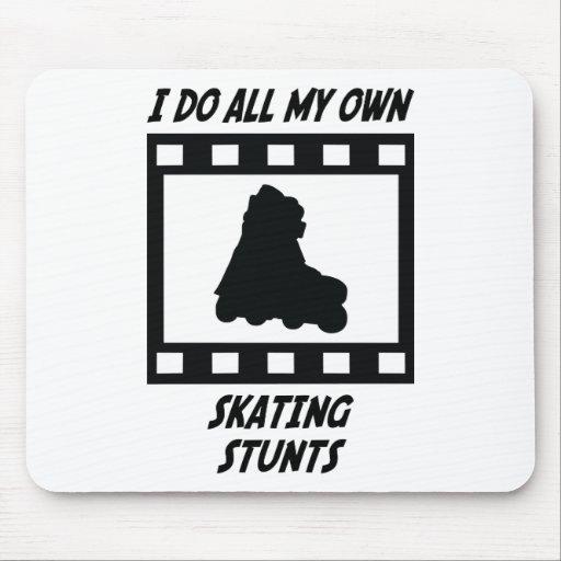 Skating Stunts Mouse Pad