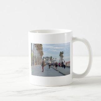 skating to venice beach coffee mug