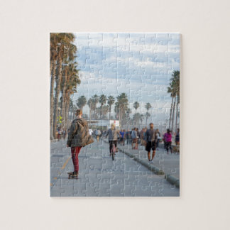 skating to venice beach jigsaw puzzle