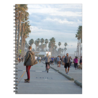 skating to venice beach notebook