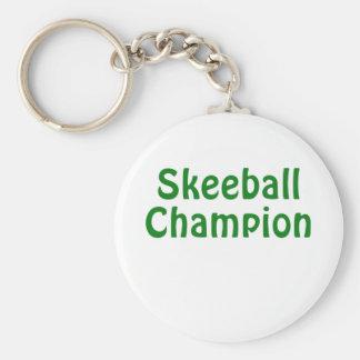 Skeeball Champion Keychain