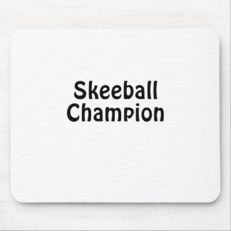 Skeeball Champion Mouse Pad