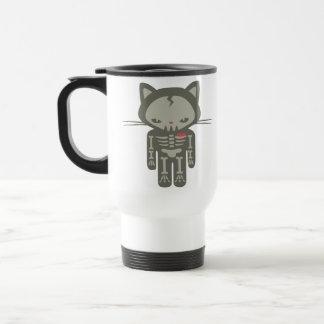 SkeleKitty Travel Mug
