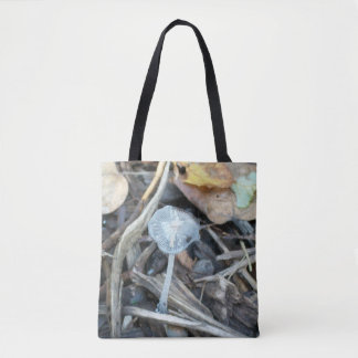 Skeleshroom Tote Bag