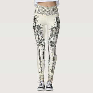 Skeletal Anatomy Leggins Leggings