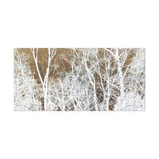 Skeletal Forest Canvas Prints