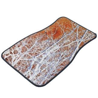 Skeletal Forest II Car Floor Carpet